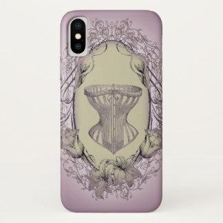 steampunk Vintages Korsett viktorianischen iPhone X Hülle