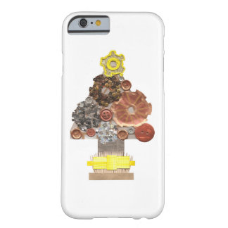 Steampunk Weihnachtsbaum IPhone 6/6s Fall Barely There iPhone 6 Hülle