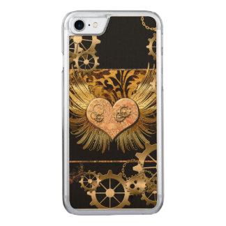 Steampunk, wunderbares Herz mit Gängen Carved iPhone 8/7 Hülle