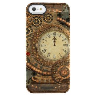 Steampunk, wunderbares Uhrwerk Durchsichtige iPhone SE/5/5s Hülle
