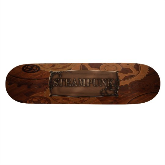 Steampunk Zahn-u. Gang-Skateboard Individuelles Skateboard