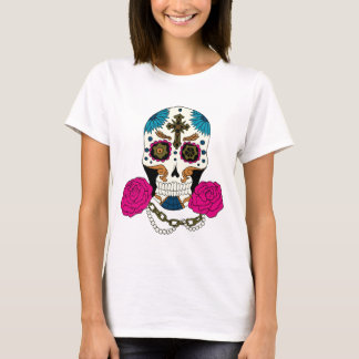 Steampunk Zuckerschädel T-Shirt