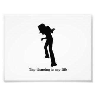 Stechen Sie Tanzen ist mein Leben an Kunst Foto