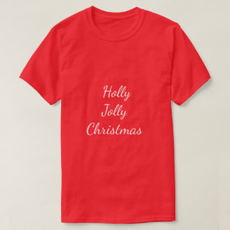Stechpalme Jolly_Christmas_Tpld--Multi-Farben u. T-Shirt