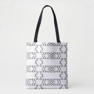 """""""Stechpalmen-"""" personalisierte Taschen-Tasche Tasche"""
