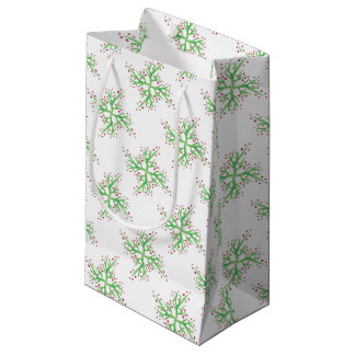 Stechpalmenentwurfs-Geschenkverpackung Kleine Geschenktüte