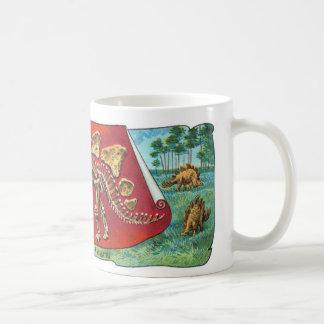 Stegosaurus-Dinosaurier-Skelett Kaffeetasse