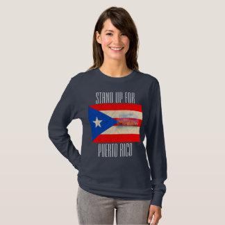 Stehen Sie oben für Puerto Rico T-Shirt