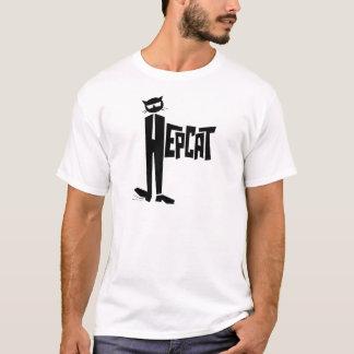 Stehende Katze T-Shirt