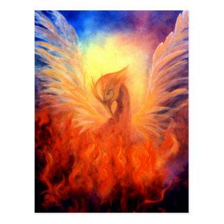 Steigende Postkarte Phoenix