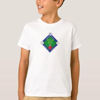 Steigern Sie zu den Platten-Kindern das T-Shirt