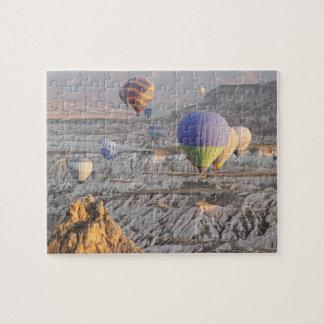 Steigt Flug Foto-Puzzlespiel im Ballon auf