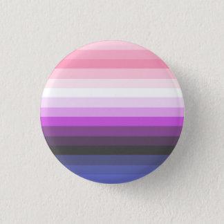 Steigung Genderfluid Stolz-Flaggen-Knopf Runder Button 3,2 Cm