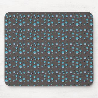 Steigungs-blaue Punkte auf grauer Mausunterlage Mousepads