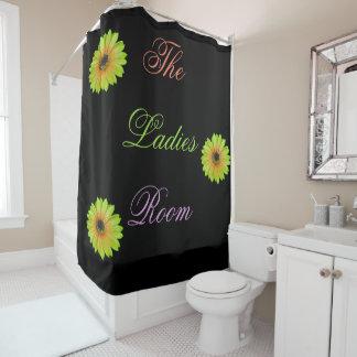 Steigungs-Limoner Gänseblümchen-Duschvorhang Duschvorhang