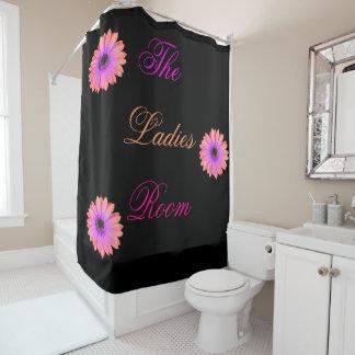 Steigungs-rosa Gänseblümchen-Duschvorhang Duschvorhang