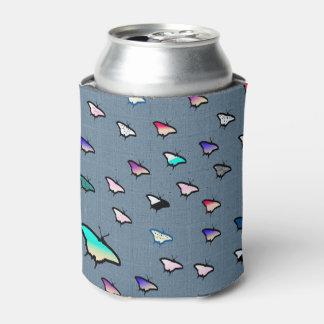 Steigungs-Schmetterlings-Denim-Bier-Hülse/cooleres Dosenkühler