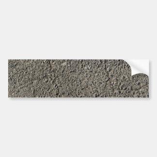 Stein bedeckt autoaufkleber
