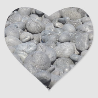 Stein Herz-Aufkleber