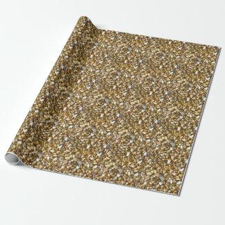 Stein-Packpapier Geschenkpapierrolle