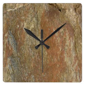 Stein Quadratische Wanduhr
