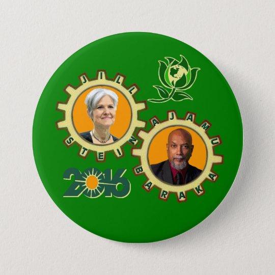 Stein u. Baraka Runder Button 7,6 Cm