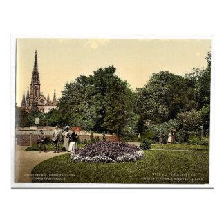 Steinbach-Quadrat und Protestantische Kirche, Postkarten