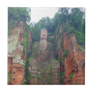 Steinbuddha Keramikfliese