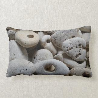 Steine mit Löchern Vorlage und Spaß Lendenkissen