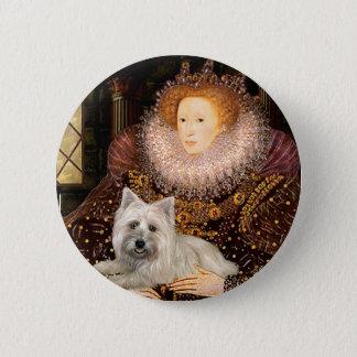 Steinhaufen Terrier 4 - Königin Runder Button 5,7 Cm