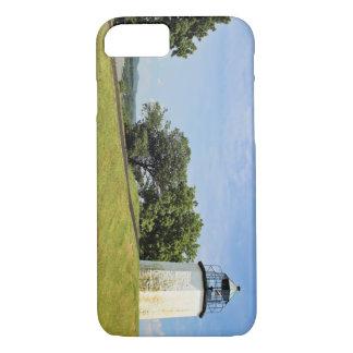 Steiniger Punkt-Leuchtturm, New York iPhone 8/7 Hülle