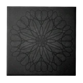 Steinmetzarbeit-Blume Kleine Quadratische Fliese
