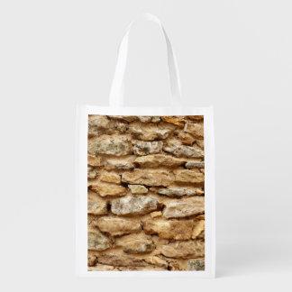 Steinmetzarbeit-wiederverwendbare Tasche Wiederverwendbare Einkaufstasche