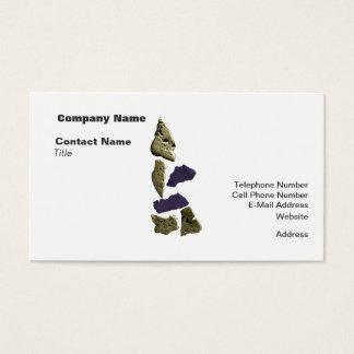 SteinNashorn-Frau Visitenkarte