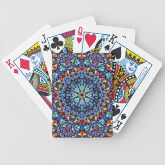 Steinwunder bunte Bicycle® Spielkarten