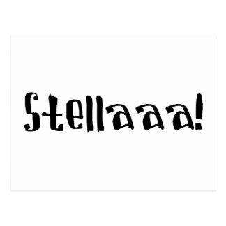 Stella Postkarte