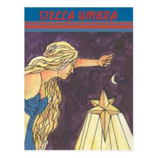 Stella-Schatten, STELLA-SCHATTEN Postkarte