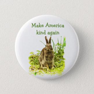 Stellen Sie Amerika-Arten-wieder niedlichen Runder Button 5,1 Cm