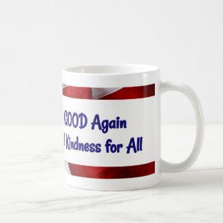 Stellen Sie Amerika gute wieder Tasse her