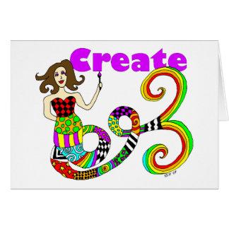 Create Colorful Mermaid Muse