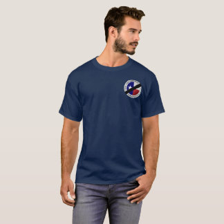 Stellen Sie es purpurrotes EMS-Shirt her T-Shirt