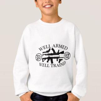 Stellen Sie Fähigkeit mit WellArmed-Gut Sweatshirt