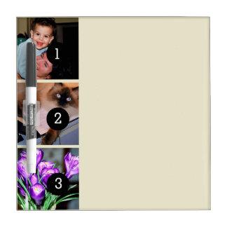 Stellen Sie Ihr eigenes Foto Instagram 3 Bilder Memoboard