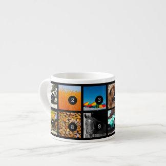 Stellen Sie Ihr eigenes MiniFoto-Album mit 12 Espressotasse