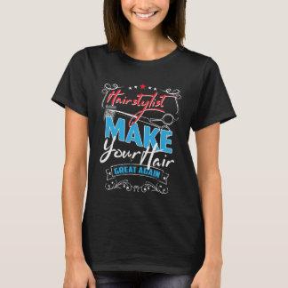Stellen Sie Ihr Haar großen wieder T - Shirt her