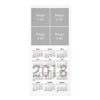 Stellen Sie Ihre eigene 2018 Kalender Werbekarte