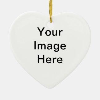 Stellen Sie Ihre eigene Herz-Verzierung her Keramik Ornament