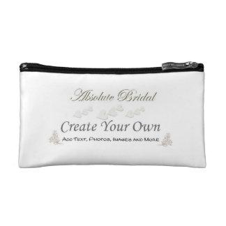Stellen Sie Ihre eigene Hochzeits-Kosmetik-Tasche Kosmetiktasche