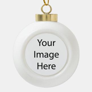 Stellen Sie Ihre eigene Keramik-Ball-Verzierung Keramik Kugel-Ornament