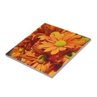 Stellen Sie Ihre eigene quadratische Blumen Fliese